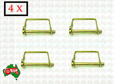 "4 x 10 mm 3/8"" Square Linch Lynch Pin Trailer Horse Float 4WD Camper Caravan"