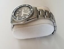 20mm CURVED END SOLID STAINLESS STEEL OYSTER BRACELET FIT SEIKO DIVER 7S26-0030
