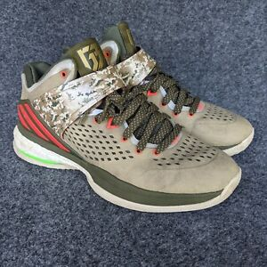 Adidas RG3 Energy Boost Brown Olive Red Camo Athletic Shoes Mens Size 8 Griffin