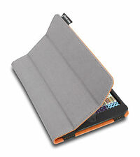 Lente Designs® 'armourdog' iPad Mini 1/2/3 cover/case in grey with orange lining