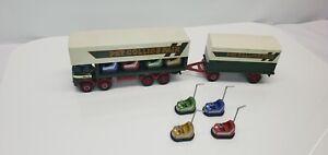 Corgi Classics 1/50, Pat Collins Fair, Showmans, ERF Dodgem Truck& Box Trailer