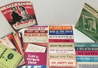 A variety Over 50 +Vintage Sheet Music (Paper)