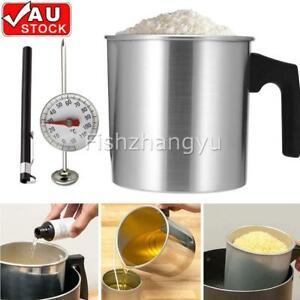 Wax Melting Pot Pouring Pitcher Jug Large Aluminium Pot Candle Soap Making Set
