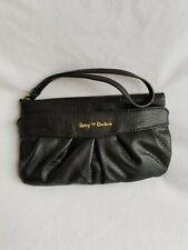 JUICY COUTURE Black Clutch Wallet Wristlet