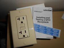 Leviton GFNT2-T Self-Test SmartlockPro Slim GFCI Non-Tamper-Resistant Receptacle