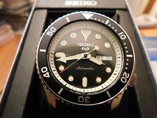 Seiko 5 Sports SRPD95 Men's Automatic Silicone Strap Watch NEW