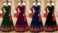 Designer Anarkali Salwar Kameez Suit Bollywood Indian Party Wear Shalwar Suit KB