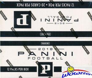 2018 Panini Football EXCLUSIVE MASSIVE Factory Sealed JUMBO FAT Box-240 Cards