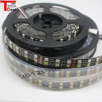 5M Double Row 5050 SMD 600 RGBW RGBWW RGB White Flex LED Strip light 120led/M