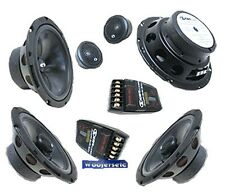"CDT AUDIO COM 626CR 6.5"" REAR FILL CAR AUDIO COMPONENT & COAXIAL SPEAKERS NEW"