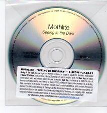 (DQ483) Mothlite, Seeing In The Dark - 2012 DJ CD