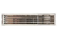 5x SCHMIDT MINE 635 M Blue D1 ballpoint pen refills