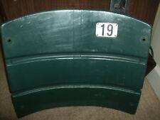 Milwaukee County Stadium seat back #19 Robin Yount Milwaukee Brewers  MLB
