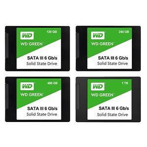 """Western Digital SSD 120GB 240GB 480GB 1TB SATA III 2.5"""" 7mm Internal Solid State"""