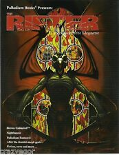 Palladium- Rifter Magazine #16 Rifts, Heroes Unlimited *FS
