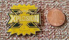 Colorado Xplosion Inaugural Game Abl American Basketball League Lapel Pin