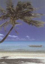 ALL TIED UP - TROPICAL BEACH POSTER 24x36 - OCEAN SAND PALM TREE 36079