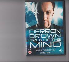 DERREN BROWN TRICK OF THE MIND COMPLETE SERIES 1 DVD