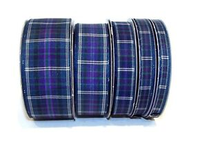 Tartan Ribbon Pride of Bannockburn Choose from 5 widths and 4 lengths