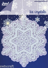 JOY CRAFTS Die Cutting & Embossing Stencil ICE CRYSTAL CIRCLE 6002/2053 *