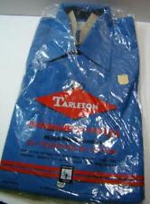 Vintage Tarleton Work Shirt Polyester Cotton Long Sleeve Mens M Nos Rare Japan