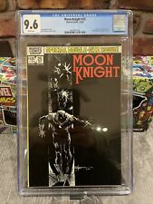 Moon Knight  #25 First Appearance Of Black Spectre! CGC 9.6 White Pages!