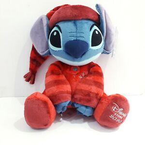 disney store plush stitch christmas 2020 soft toy with tag medium xmas gift idea