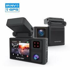 1080P Dual Lens Dash Cam DVR Dashboard Camera G-Sensor GPS Sony Sensor   Aurora