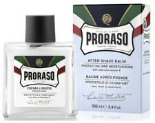 PRORASO MEN AFTER SHAVE BALM BLUE Balsam Protective & Moisturising Box 100ml