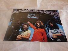 VAN HALEN - Mini poster couleurs !!!!! VINTAGE 70'S !!!!!!!!!!