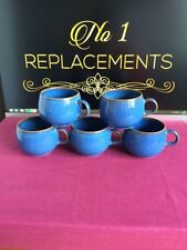 Denby Stoneware Pottery Cups & Saucers 1940-1959 Date Range