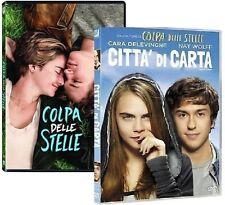 Dvd COLPA DELLE STELLE / CITTA' DI CARTA (2014/15)  ......NUOVI