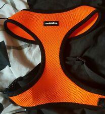 XL Orange dog harness