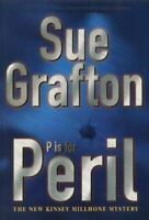 Grafton, Sue, P is for Peril (A Kinsey Millhone Mystery), Very Good, Hardcover