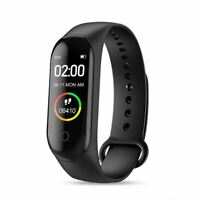 Smartwatch M4 Pro Bluetooth Fitnesstracker Sport Armband Wasserdicht Android iOS