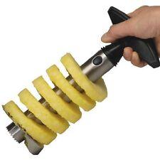 Fruit Pineapple Corer Slicer Peeler Cutter Parer Stainless Kitchen DIY Tool NEW