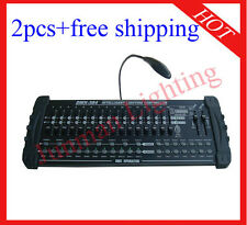 2pcs DMX384 Stage DMX512 Light Console DJ Dimmer Free Shipping