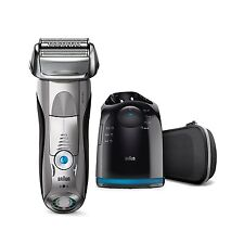 Braun Series 7 7898cc Wet & Dry Rasoio Elettrico con Clean & Charge Station