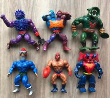 6 vintage Action Figure Lot He-man Masters Of The Universe Motu
