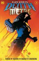 Dark Nights Death Metal #3 Embossed Foil Main Cover DC comic 1st Print 2020 NM