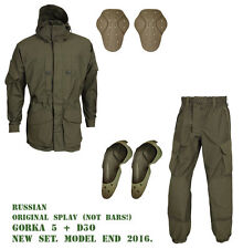 Suit GORKA-5 + D3O Knee&Elbow Original SPLAV Russian Tactical Mountain Military