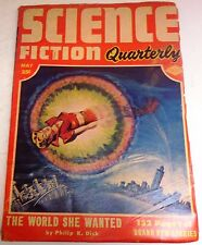 Science Fiction Quarterly – US Pulp – May 1953 – Vol.2 No.3 - Philip K. Dick