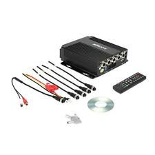 Auto Car 4CH Video Audio Input Mobile DVR SD Card + Remote Contrller Encrption