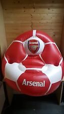 Arsenal inflatable chair with cup holders