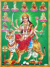 room design ideas for bedrooms nava warrior goddess Durga paper poster