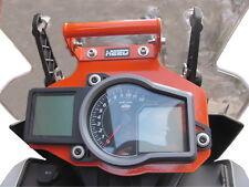 GPS Bracket Holder Mount Heed for KTM 1190 1050 and 1290 Adventure - Orange