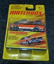 2010 MATCHBOX LENSEY EDITION '68 MERCURY COUGAR VHTF