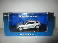MAZDA RX-8 SILVER 55907 AUTOART SCALA 1:43