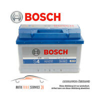 Autobatterie original Bosch Silver S4 007 Starterbatterie 12V 72Ah Batterie Audi