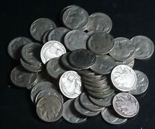 Lot of 50 Mixed Full Date Buffalo Indian Head Nickels 5c Nice Coins - 2